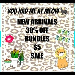 🔥🔥$5 Sale Great clothing and 30% bundle discount